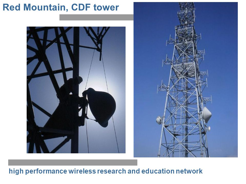 Red Mountain, CDF tower