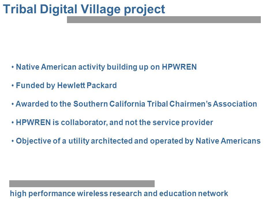 Tribal Digital Village project