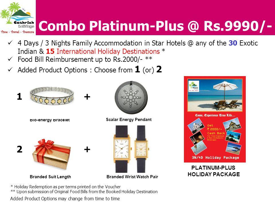 Combo Platinum-Plus @ Rs.9990/-