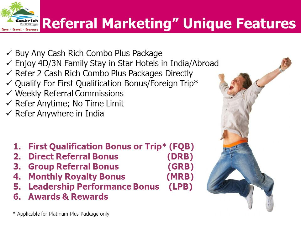 Referral Marketing Unique Features