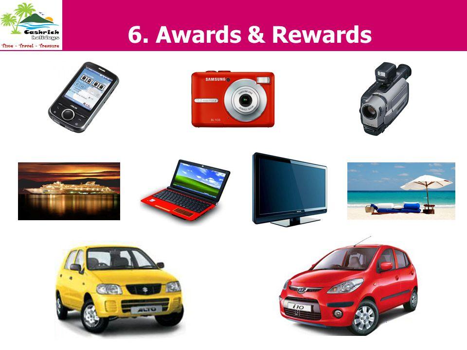 6. Awards & Rewards