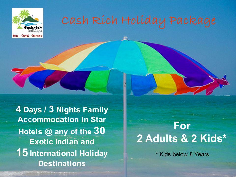15 International Holiday Destinations