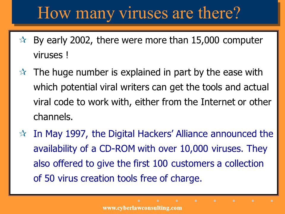 How many viruses are there