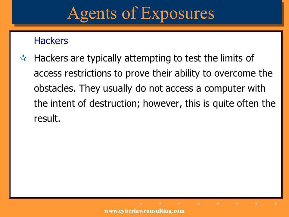 Agents of Exposures Hackers