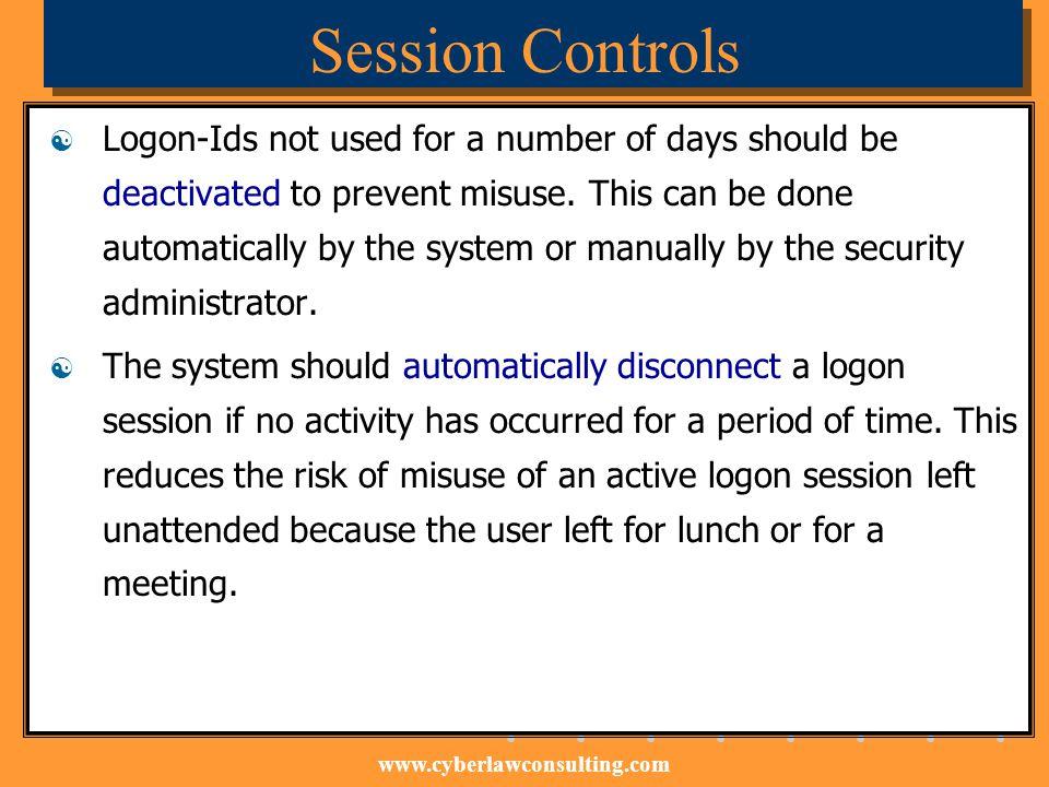 Session Controls