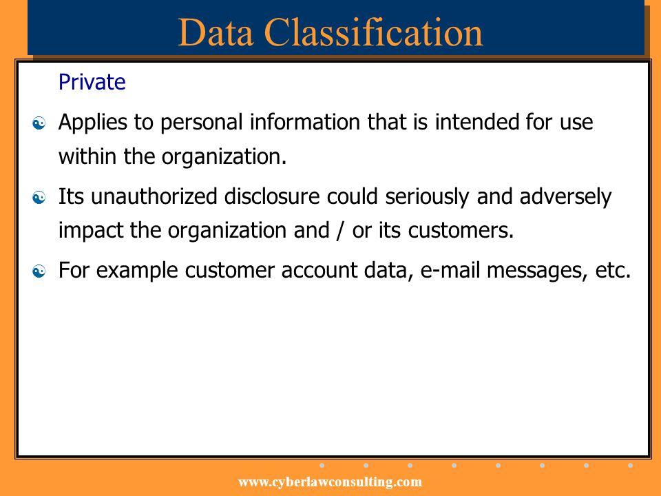 Data Classification Private