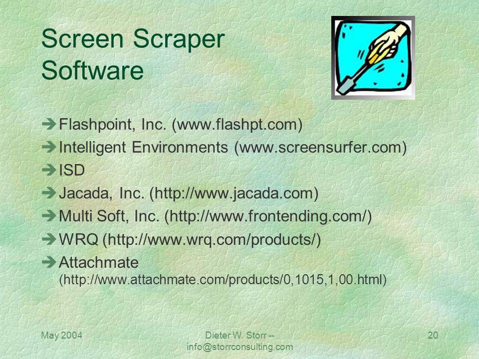 Screen Scraper Software