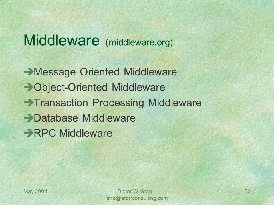 Middleware (middleware.org)
