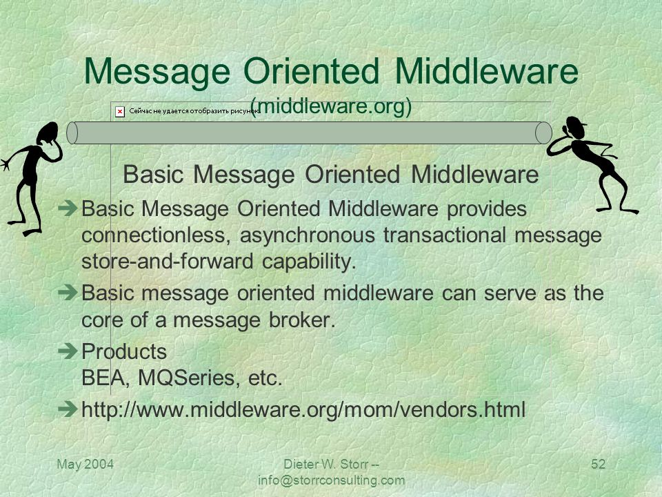 Message Oriented Middleware (middleware.org)