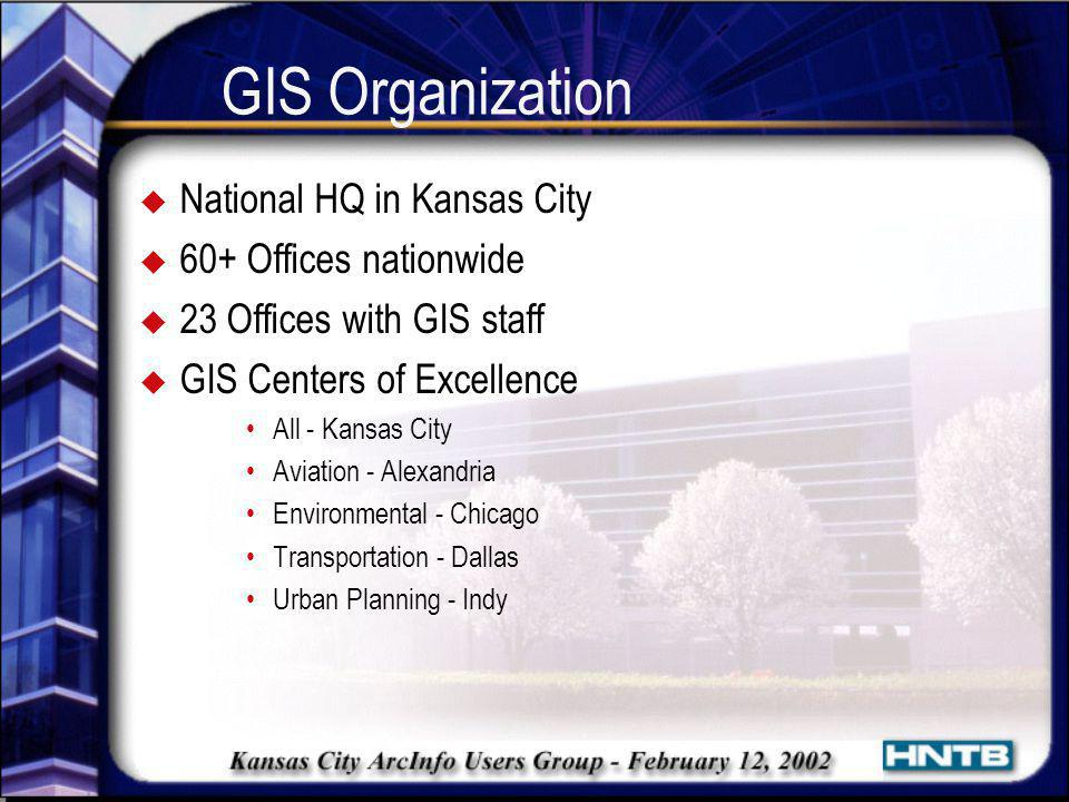 GIS Organization National HQ in Kansas City 60+ Offices nationwide