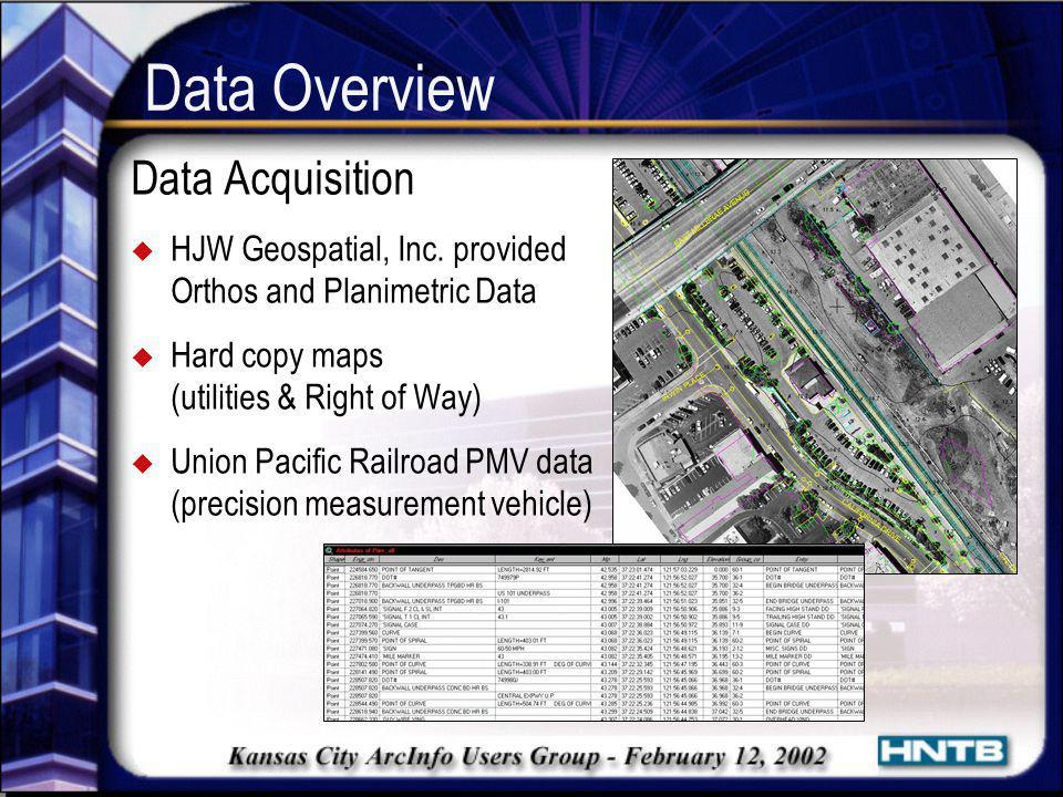 Data Overview Data Acquisition