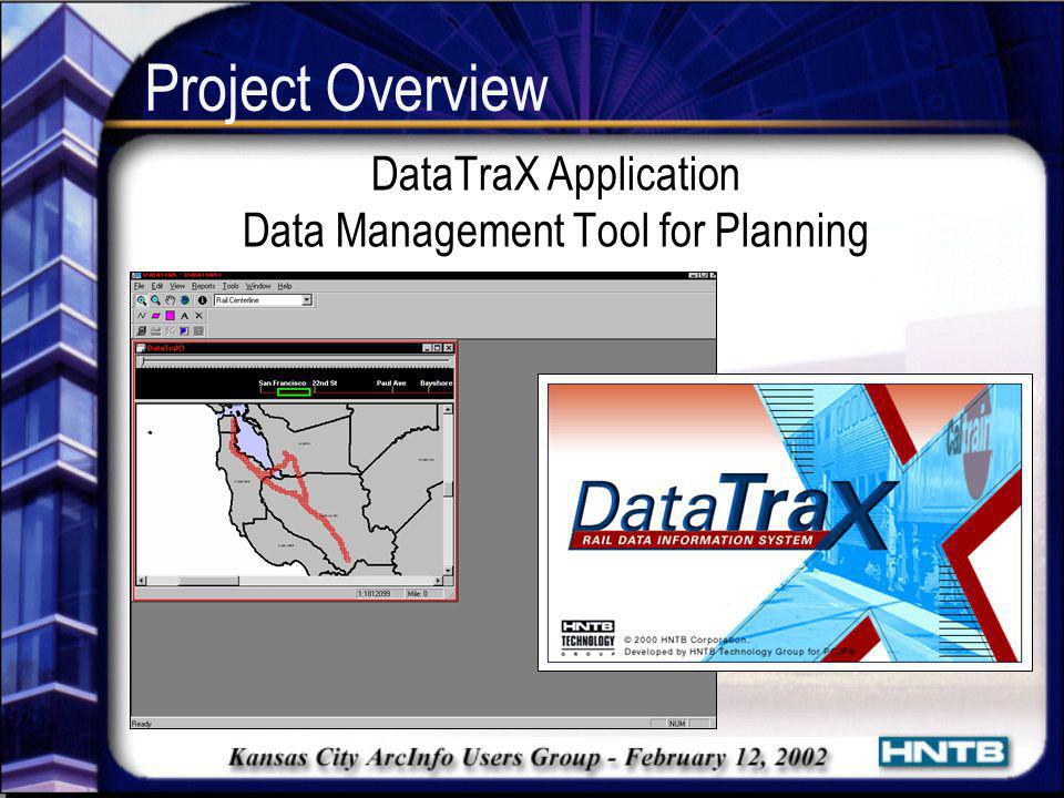 DataTraX Application Data Management Tool for Planning