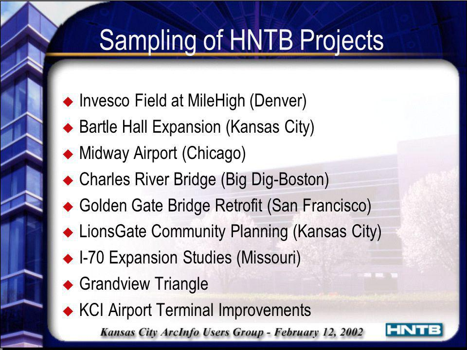 Sampling of HNTB Projects