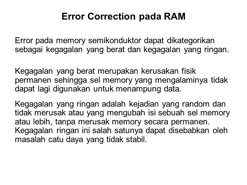 Error Correction pada RAM