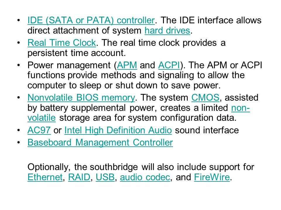 IDE (SATA or PATA) controller