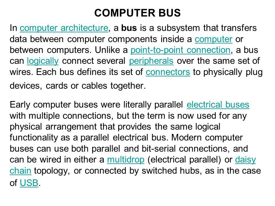 COMPUTER BUS