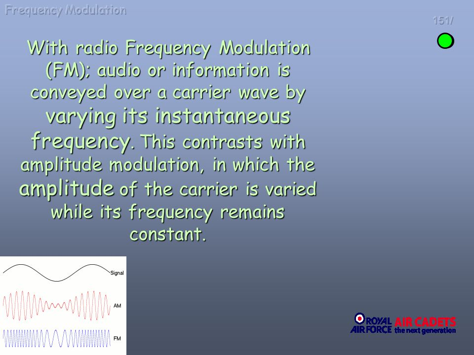 Frequency Modulation 151/