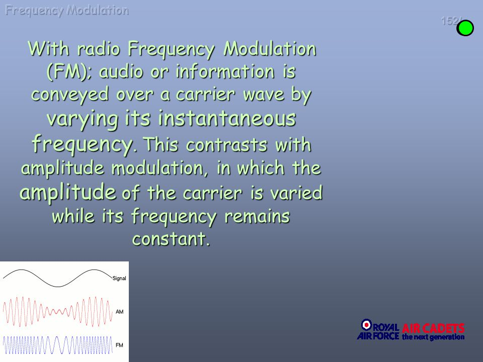 Frequency Modulation 152/