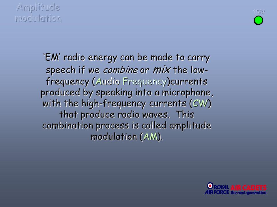 Amplitude modulation 158/