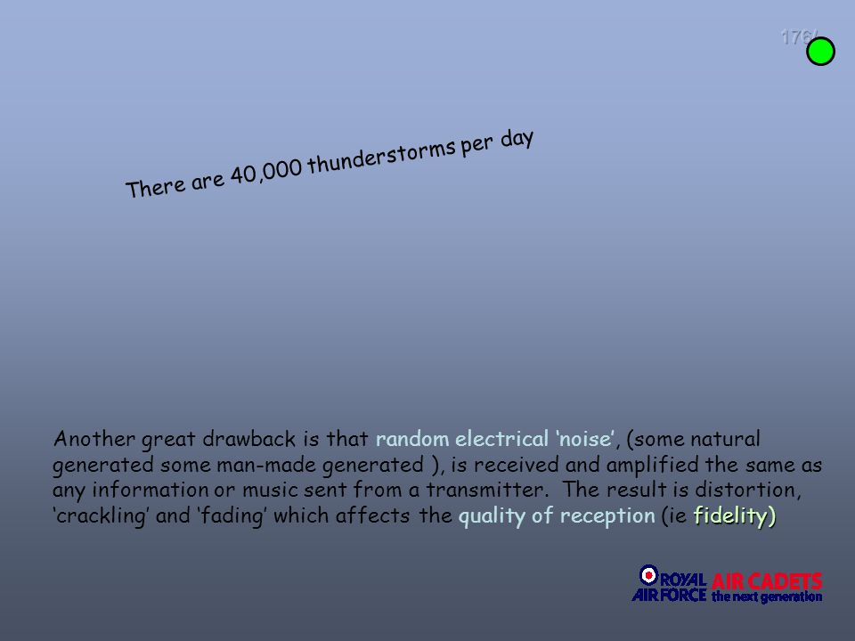 There are 40,000 thunderstorms per day
