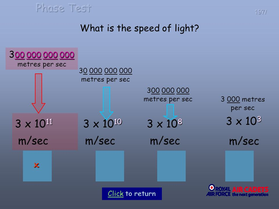 What is the speed of light