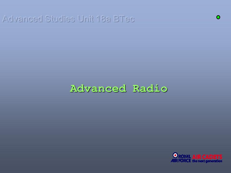 Advanced Studies Unit 18a BTec