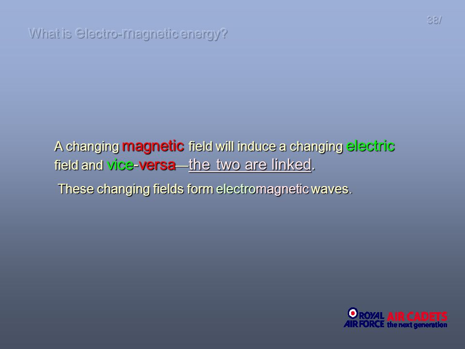 What is electro-magnetic energy
