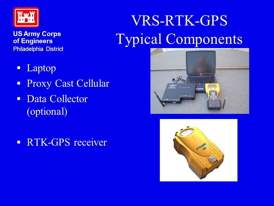 VRS-RTK-GPS Typical Components