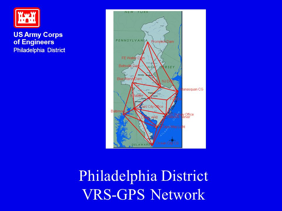 Philadelphia District VRS-GPS Network
