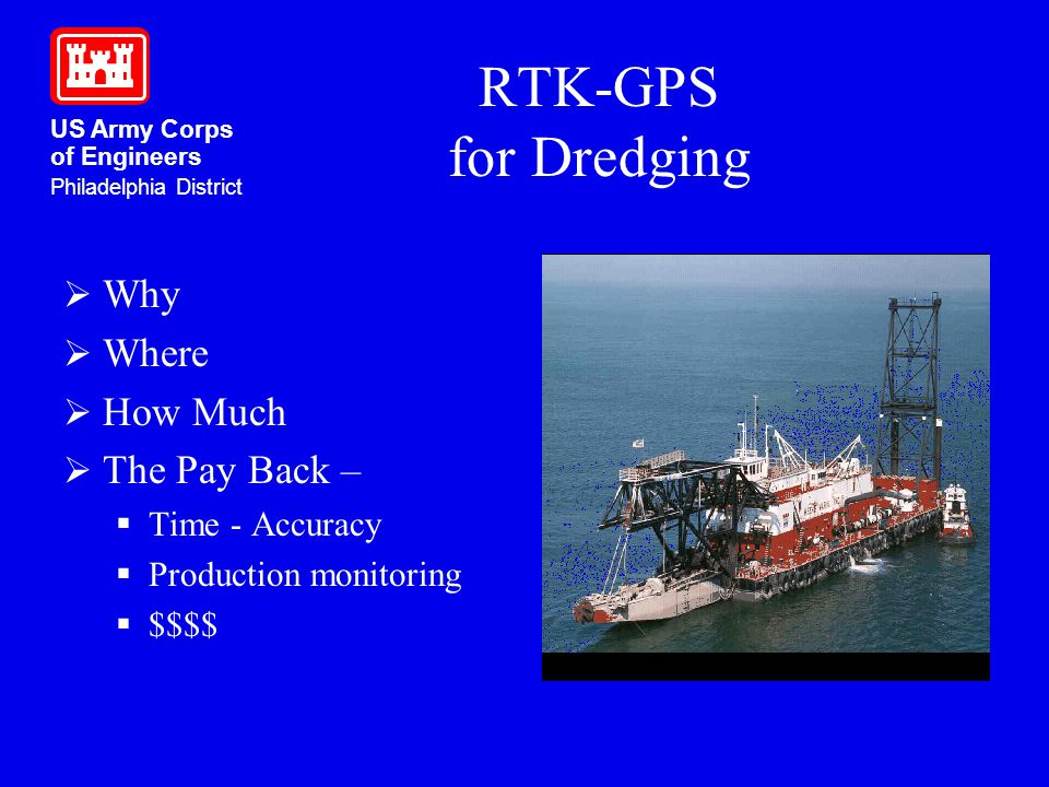 RTK-GPS for Dredging Why Where How Much The Pay Back – Time - Accuracy