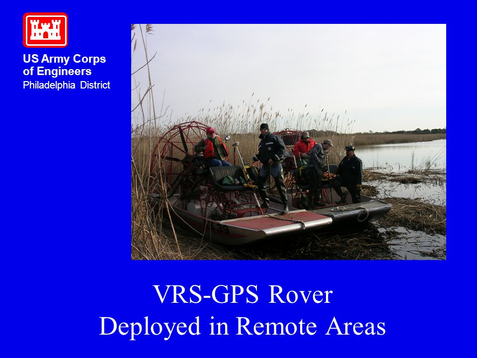 VRS-GPS Rover Deployed in Remote Areas