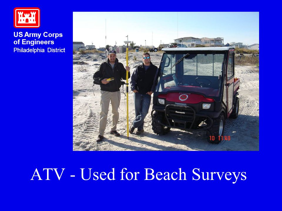 ATV - Used for Beach Surveys
