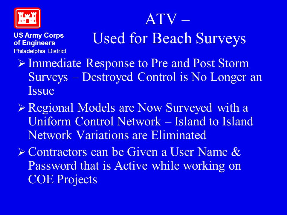 ATV – Used for Beach Surveys