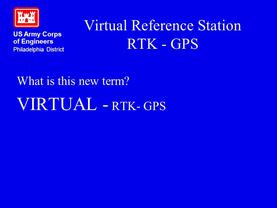 Virtual Reference Station RTK - GPS