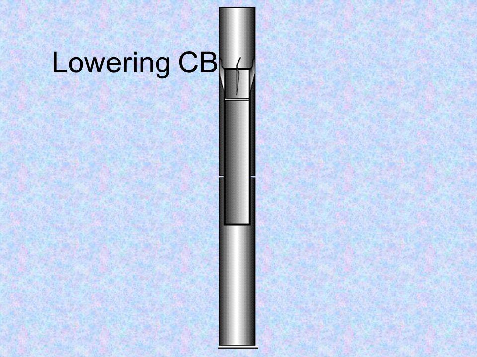 Lowering CB