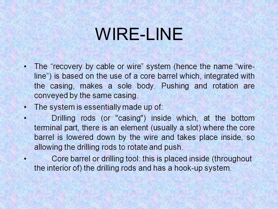 WIRE-LINE
