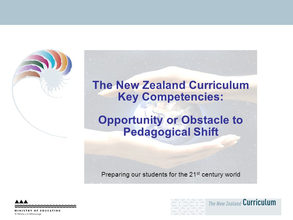 The New Zealand Curriculum Key Competencies: