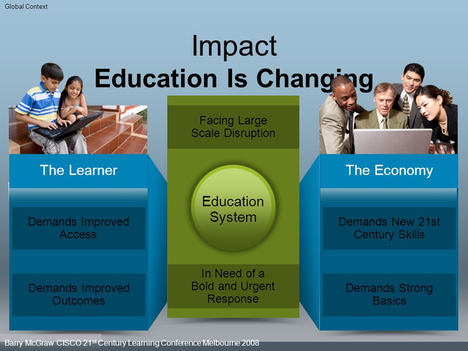 Impact Education Is Changing