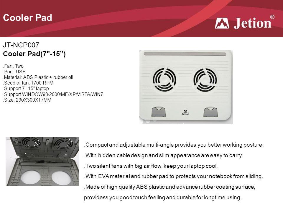 Cooler Pad JT-NCP007 Cooler Pad(7 -15 )