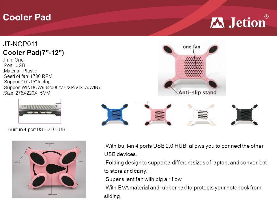 Cooler Pad JT-NCP011 Cooler Pad(7 -12 )