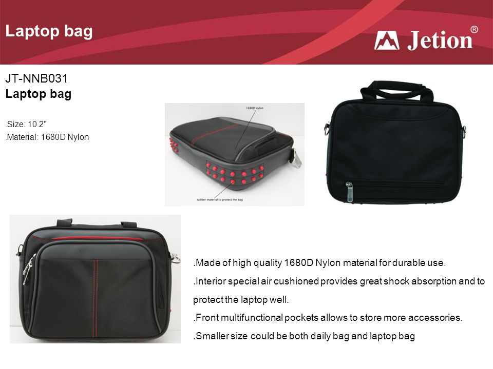 Laptop bag JT-NNB031 Laptop bag