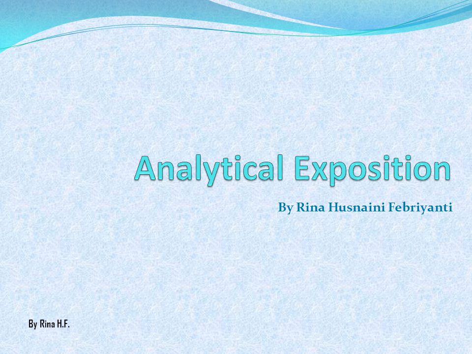 Analytical Exposition Ppt Video Online Download
