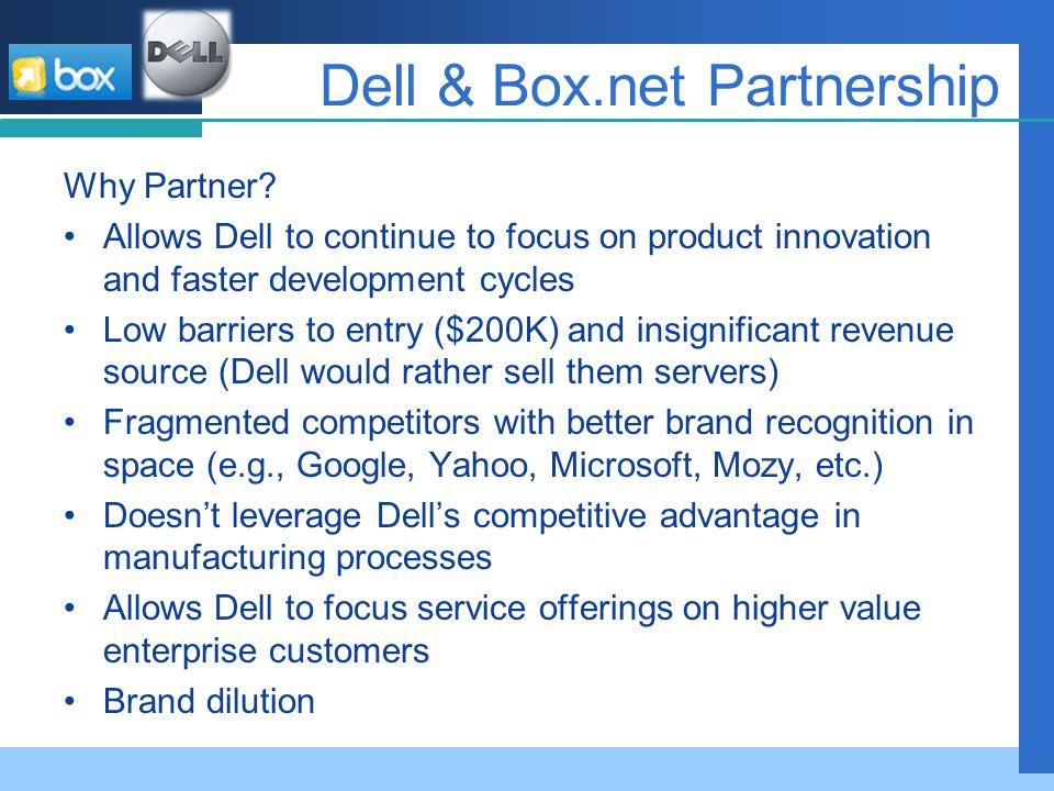 Dell & Box.net Partnership