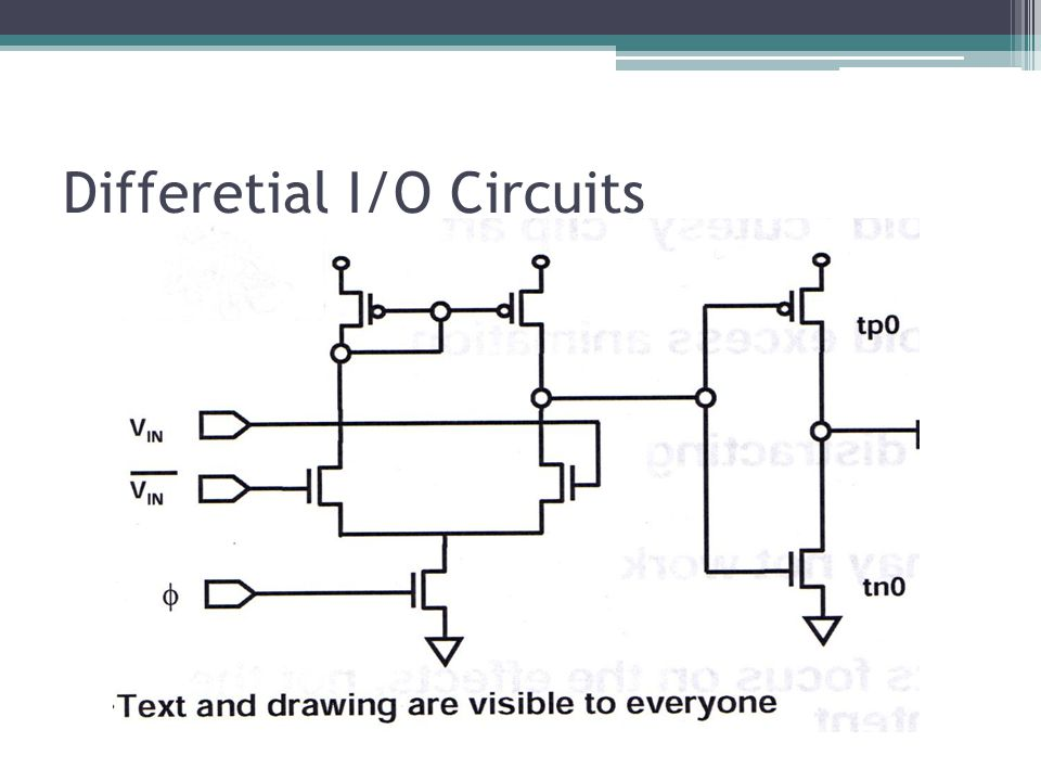 Differetial I/O Circuits