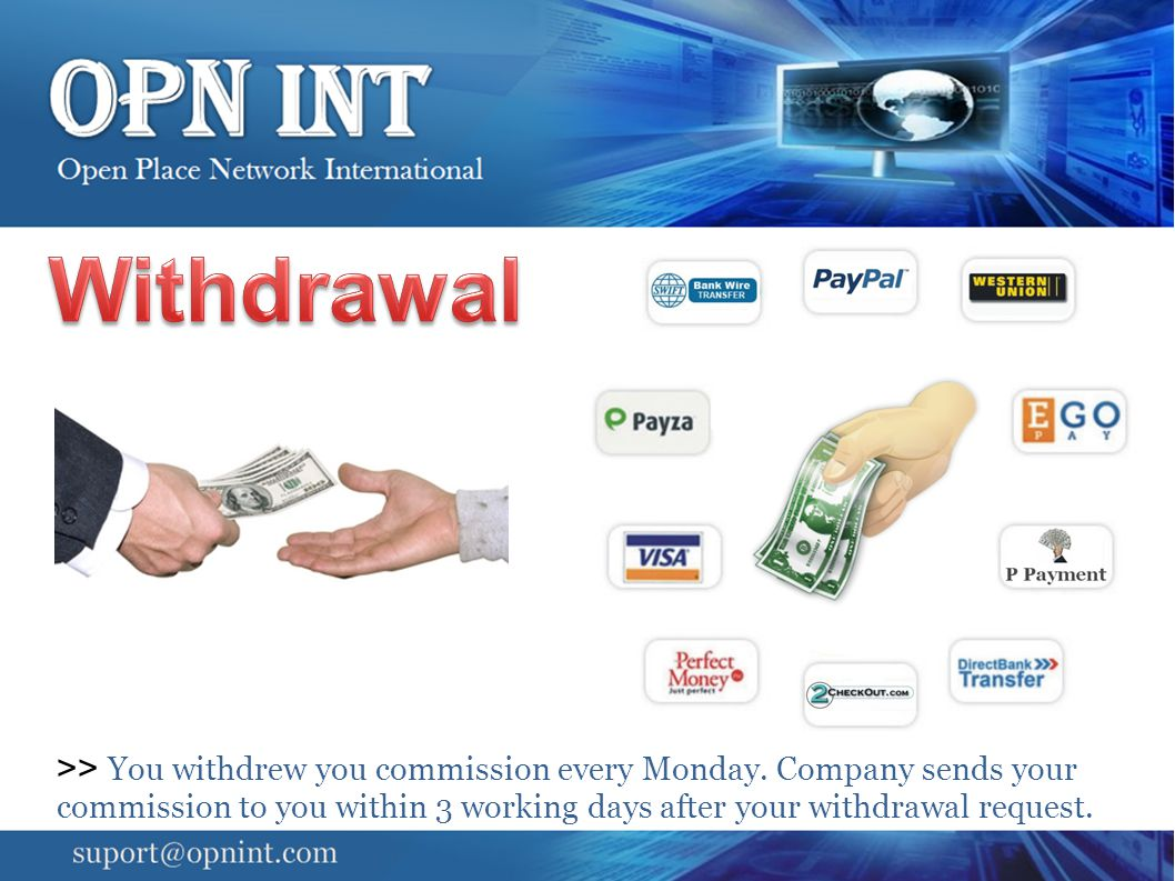 Withdrawal Note: Company is not responsible your withdrawal in case of wrong payment detail and address provided.