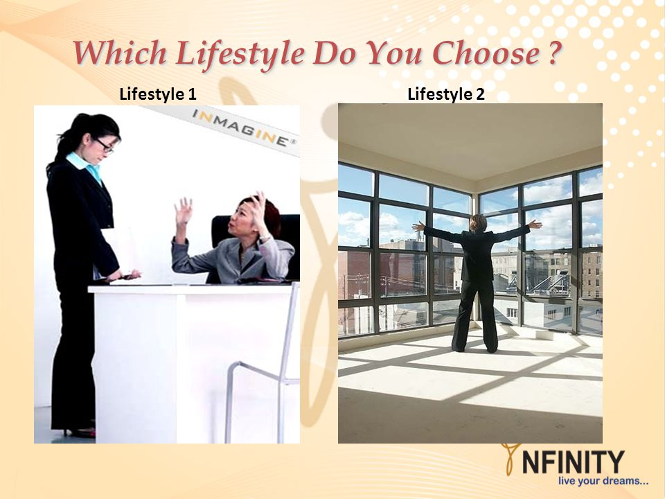Which Lifestyle Do You Choose