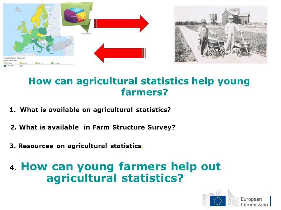 How can agricultural statistics help young farmers
