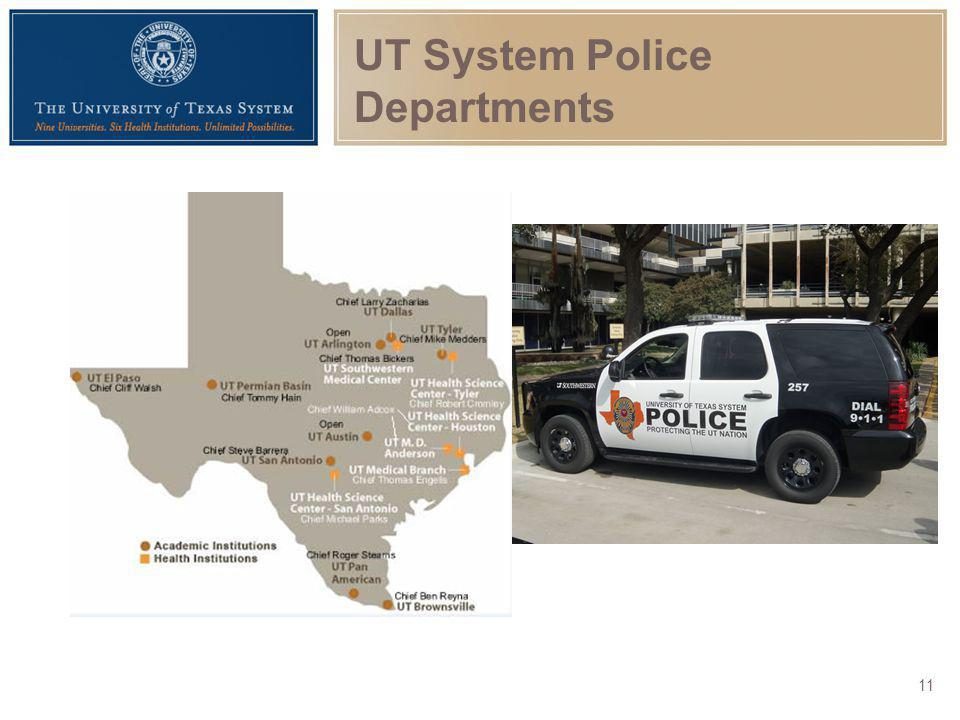 UT System Police Departments
