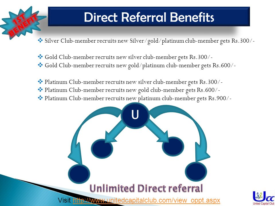 Unlimited Direct referral