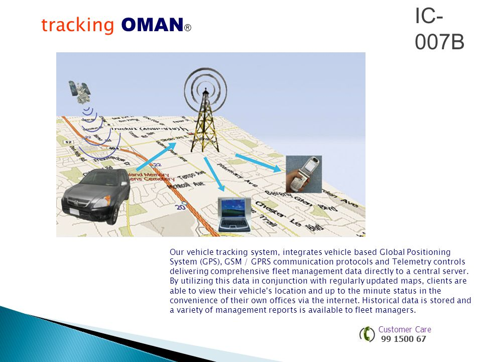 IC-007B tracking OMAN®®